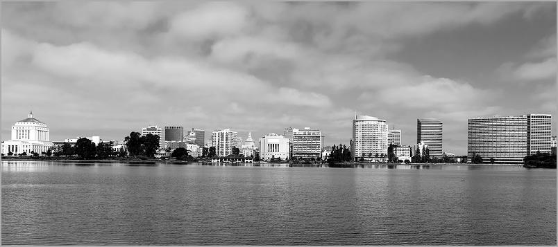 Downtown skyline of Oakland, californina