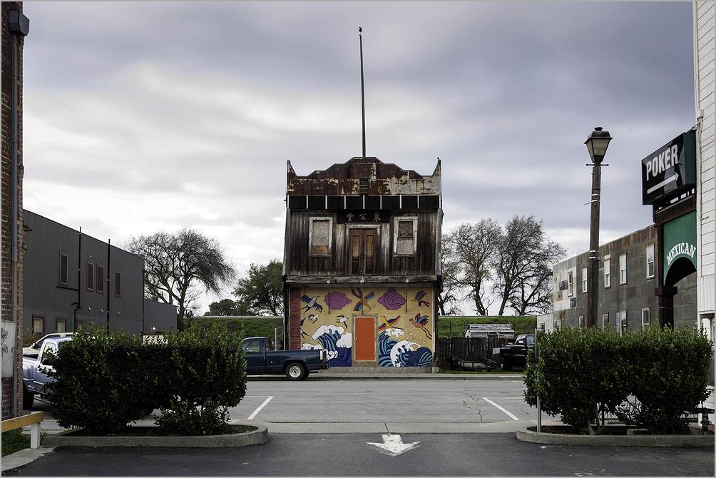 View along Main Street - Isleton, California