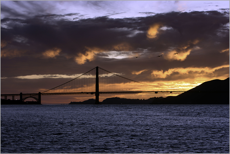 Molten Golden Gate Sunset