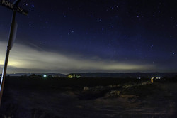 Nightfall in The Sacramento Valley