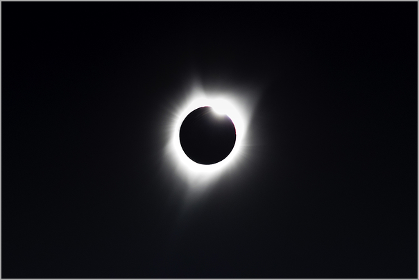 "Total eclipse 2017 - ""Diamond Ring"""