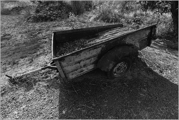 Flatbed out to pasture Oregon