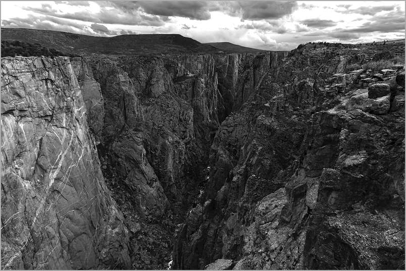 Black Canyon of The Gunnison National Park - Rain
