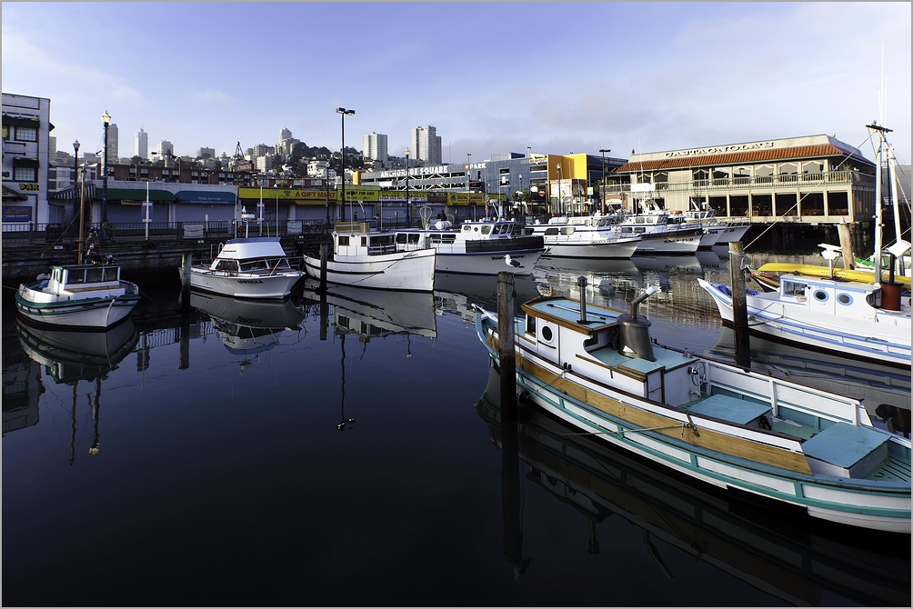 Early Morning at Fisherman's Wharf - San Francisco