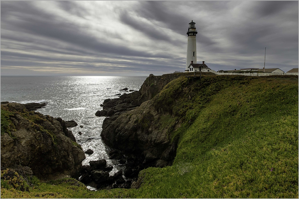 Cloudy Afternoon at Pigeon Point Lighthouse