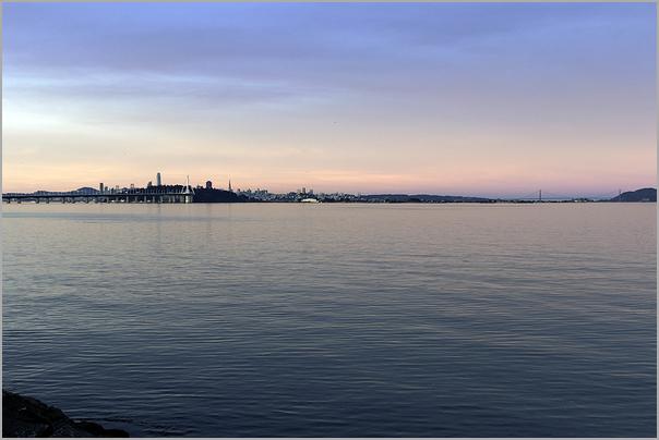 First Light upon San Francisco Bay