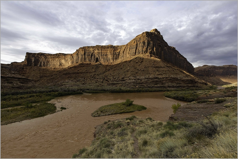 Muddy Colorado River