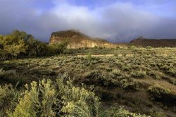 Arches National Park - Misty Dawn