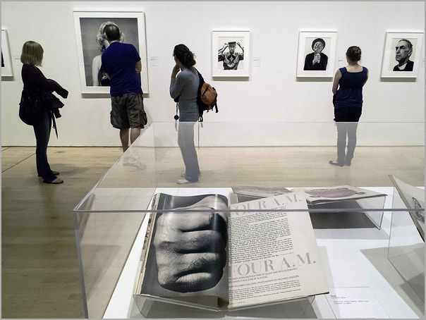 Viewing the photography of Richard Avedon