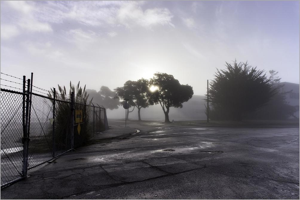 Sun-break through Fog
