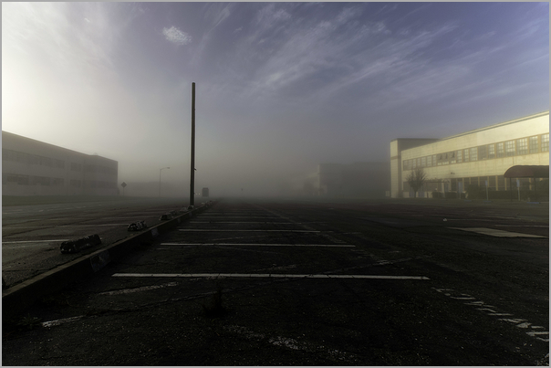 Free Parking study in fog