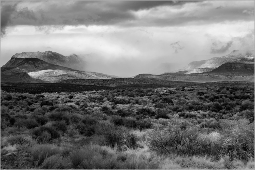 Winter Storm Moving In - Utah High Country
