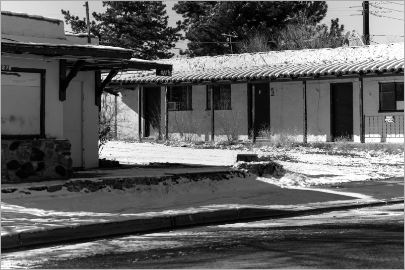 Abandoned Motel along Route 66 - Route 66