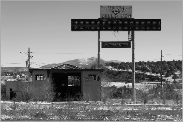 Abandoned Truck Stop on Route 66