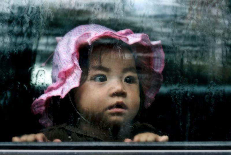 Raining in Cambodia