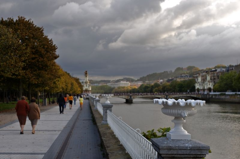 Donostia , Autumn is approaching