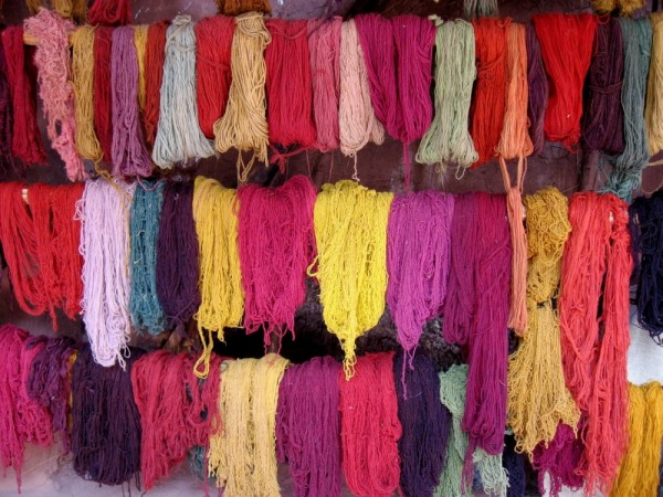 Dyed Alpaca Wool