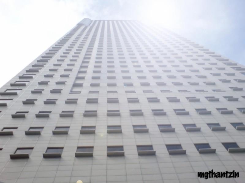 One Skyscraper in Singapore Downtown