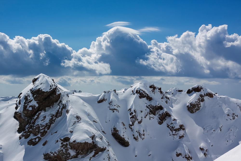 mountain tehran iran tochal