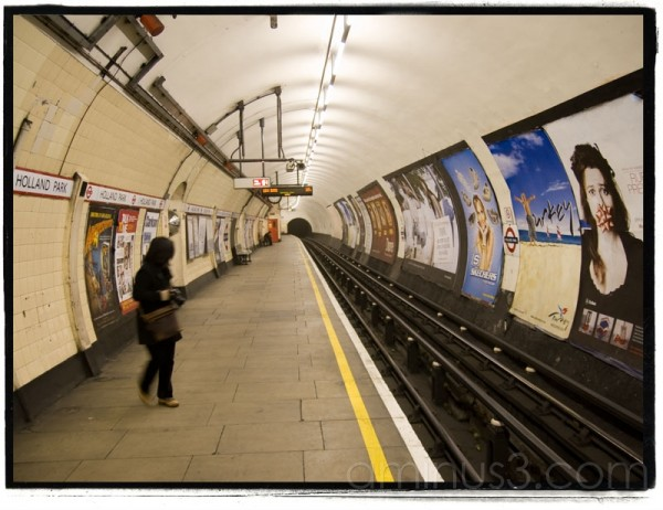 Holland Park tube station, London