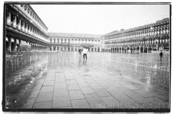 St. Mark's Square without the tourists