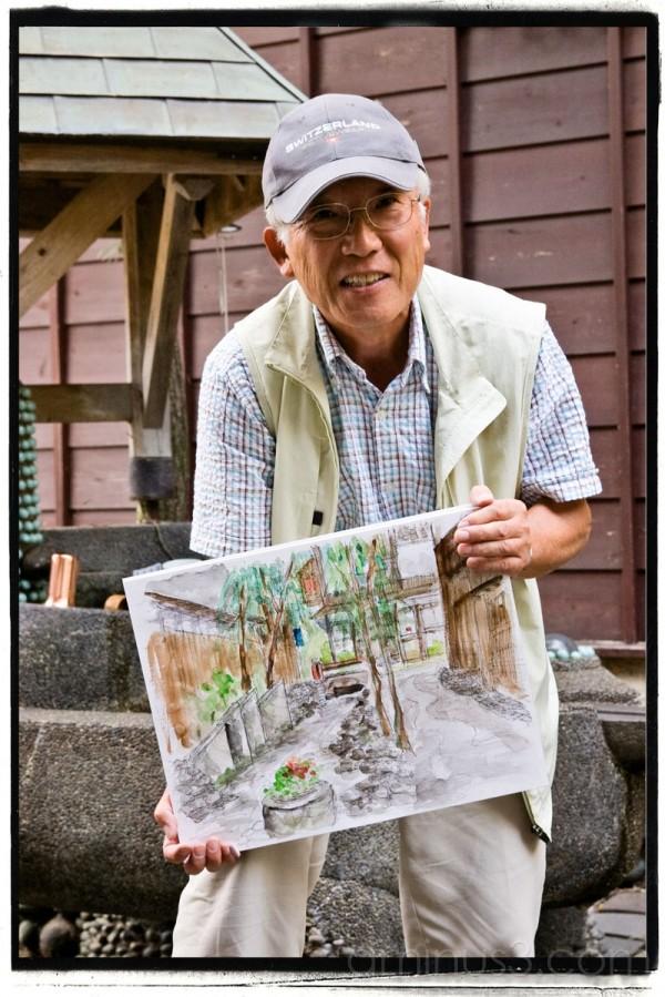 Gujo-Hachiman painting class