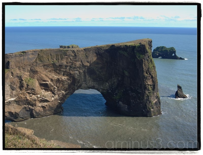 Dyrholaey. Southermost point of Iceland