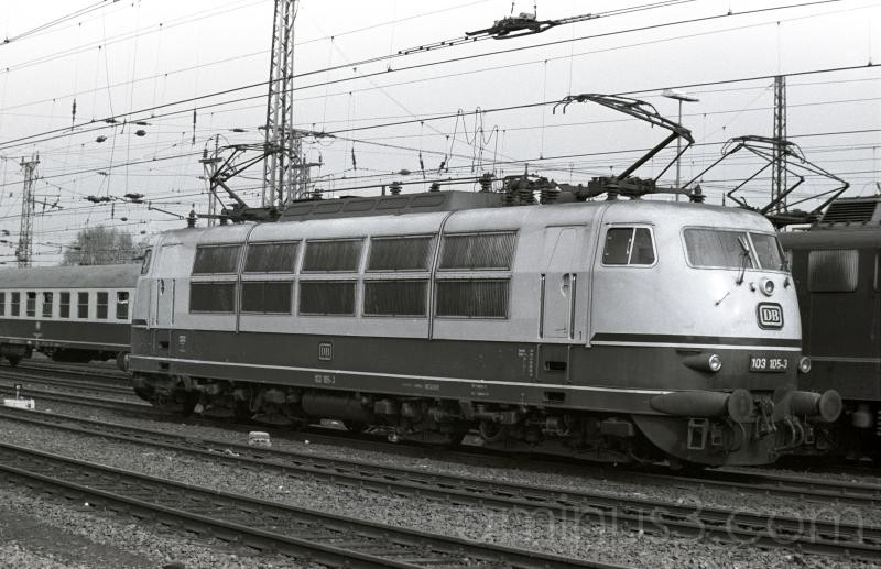 Deutsches Bundesbahn trains