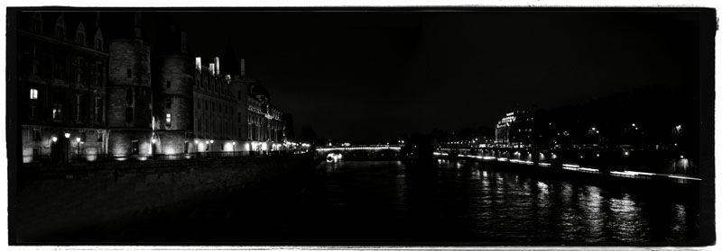 Paris at night Pont Neuf