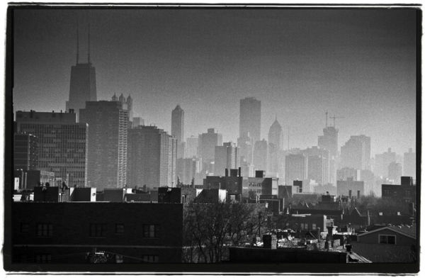Chicago looming