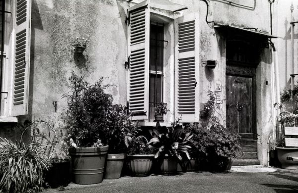 Photo of old French house