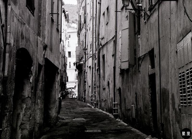 Backstreets in Grasse