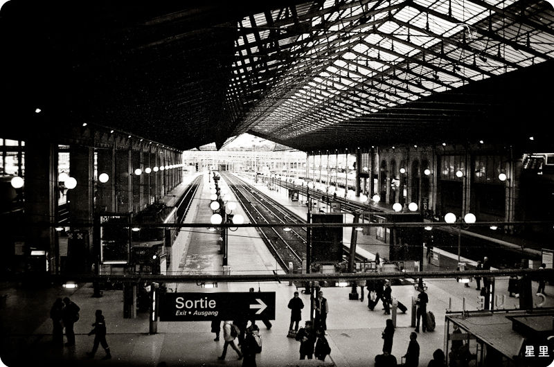 Gare du Nord -- A time of departure