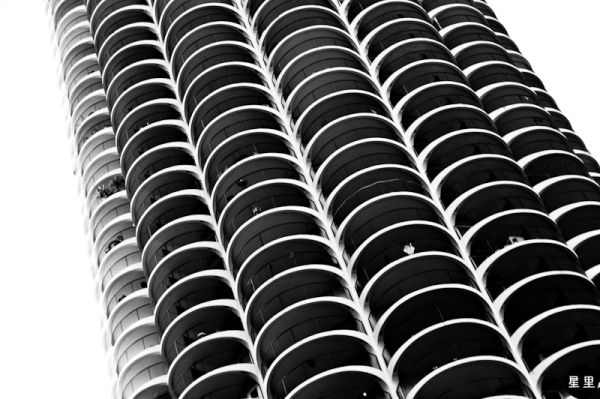 Marina City -- patterns