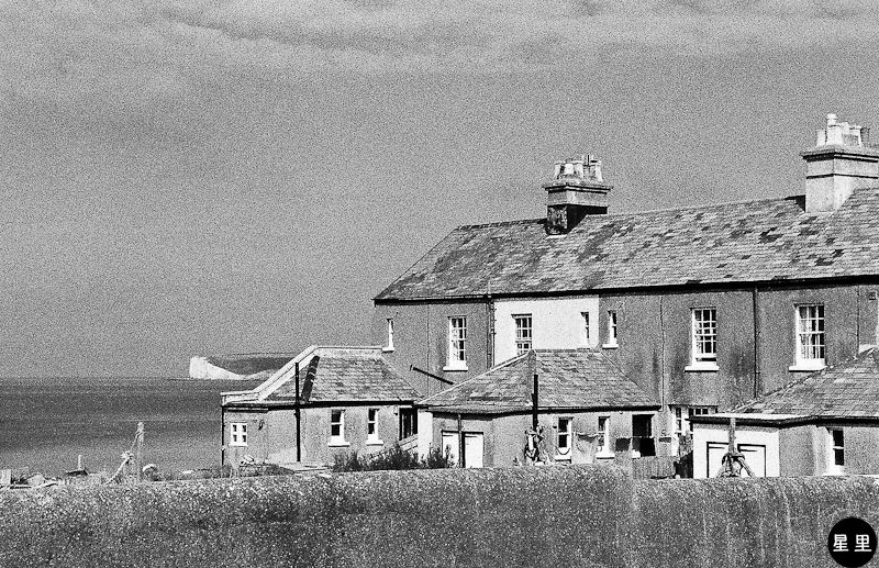 Fishing cottages at Birling Gap