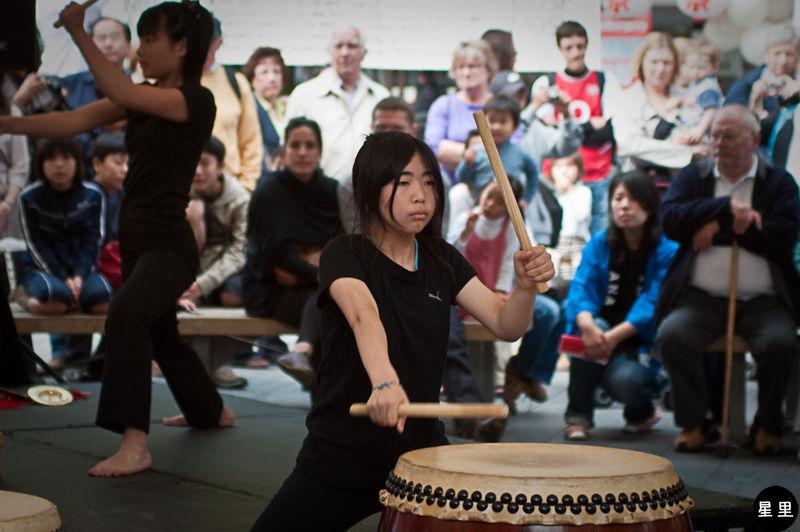 Japan Matsuri taiko drums