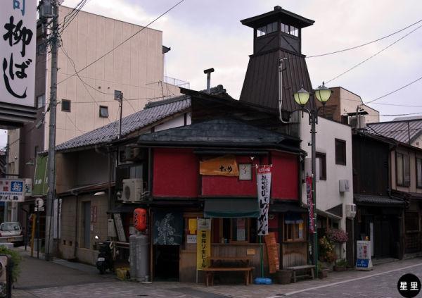Corner snackbar, Takayama