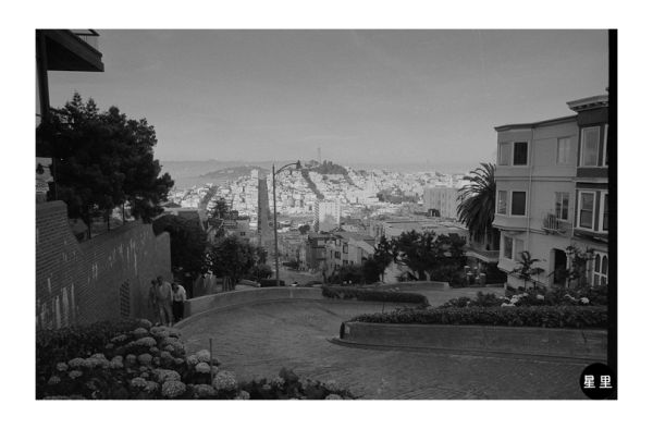On top of Lombard Street, 1987