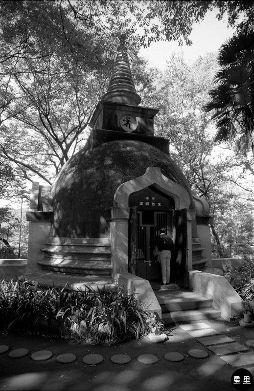 Ueno park stupa