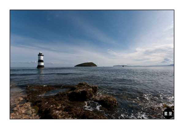 Penmon Point Lighthouse and Puffin Island