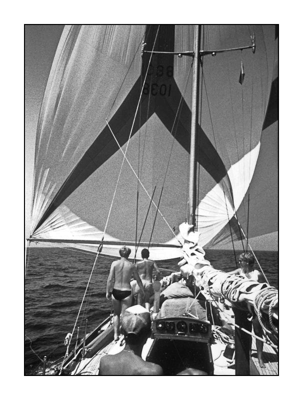 "Sailing on ""De Zwerver"""