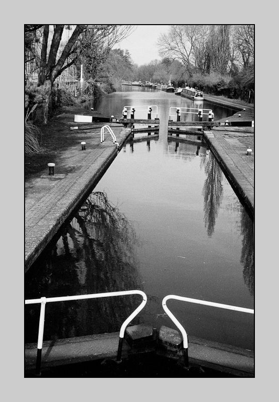 Lock in Grand Union Canal, Uxbridge