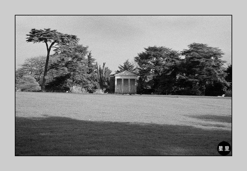 Infrared: Gunnersbury Park 18th century Temple