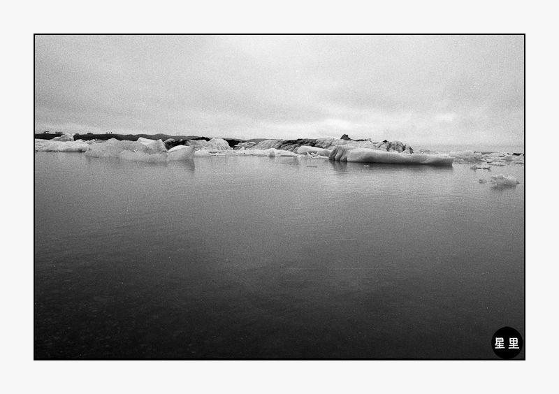 Glacial lagoon at Jökulsárlón