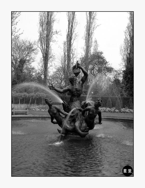 Triton Fountain, The Regent's Park