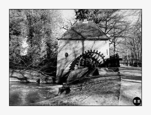 Watermill at Kasteel Hackfort