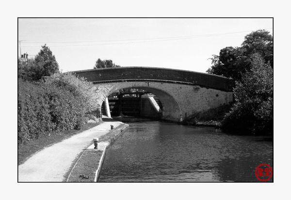Bridge by Stockers Lock, Grand Union Canal