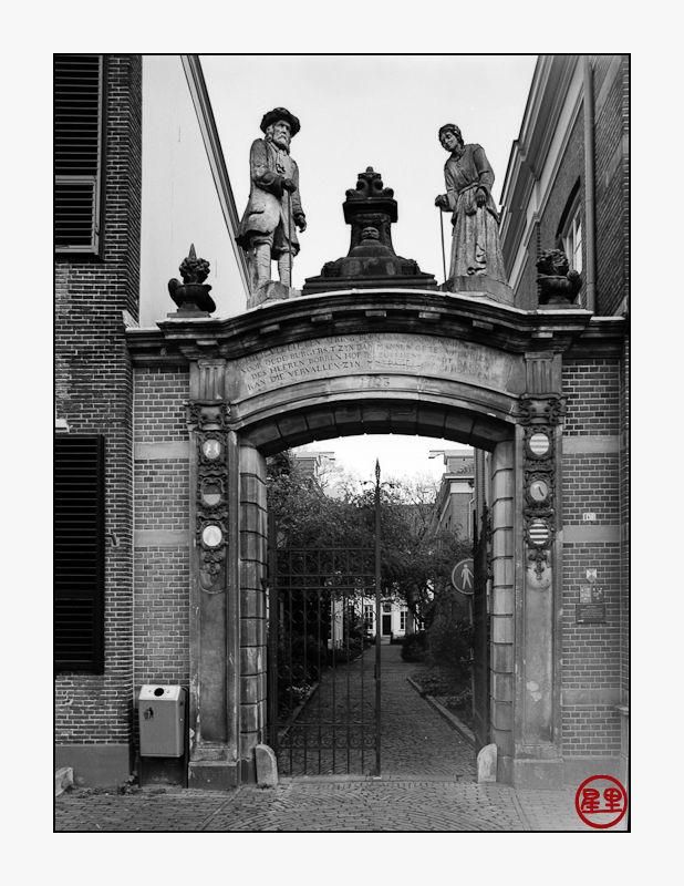 Entrance to Bornhof, Zutphen