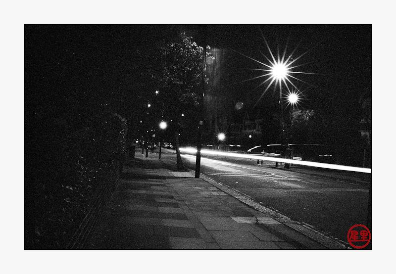 Nighttime in Ealing