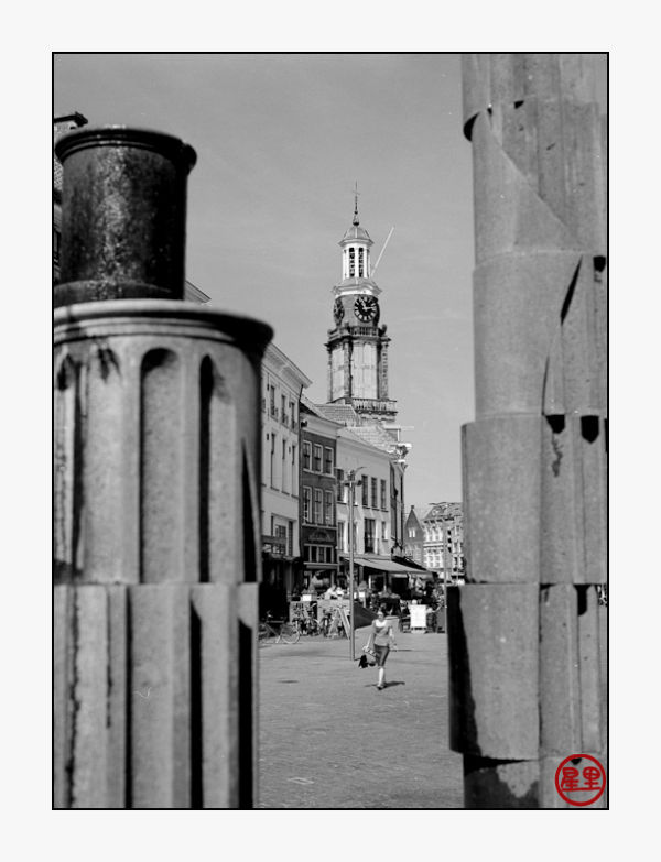 Wijnhuistoren from the market